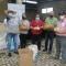 ENTREGA DE 10.000 ALEVINES DE TILAPIA Y BALANCEO A LOS PRODUCTORES DE LA PARROQUIA.